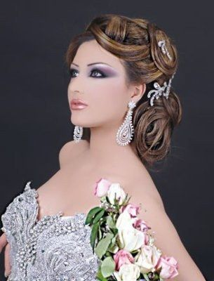 coiffure mariage 2017 libanaise - Maquillage mariage