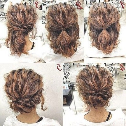 Coiffure Mariage Avec Un Carre Court Maquillage Mariage