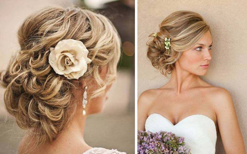 Coiffure Mariage Boheme Chic Maquillage Mariage