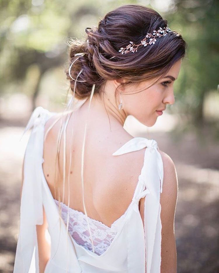 coiffure mariage boheme chic - Maquillage mariage