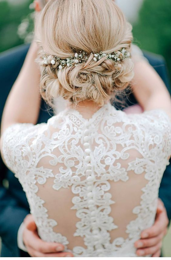 coiffure mariage champetre