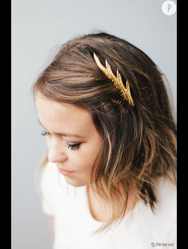 coiffure mariage cheveux carre