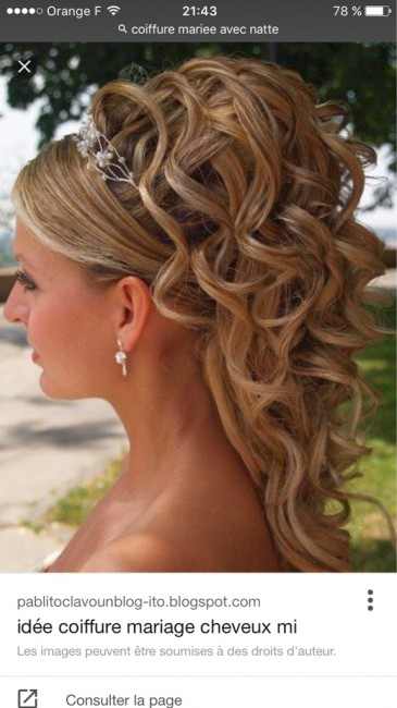 Coiffure Mariage Extension Clip Maquillage Mariage