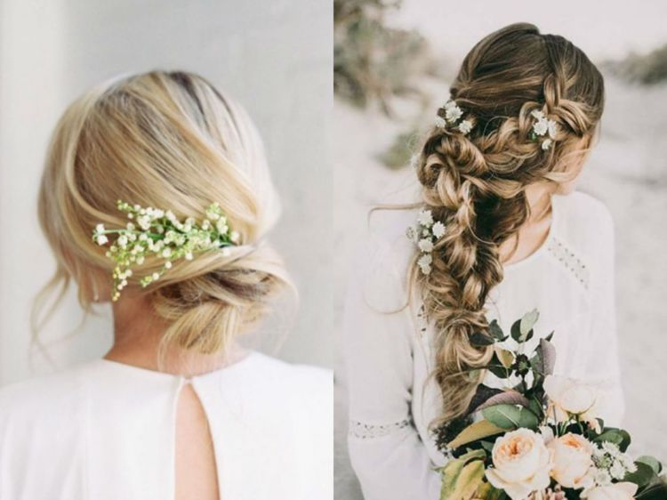 coiffure mariage femme cheveux long