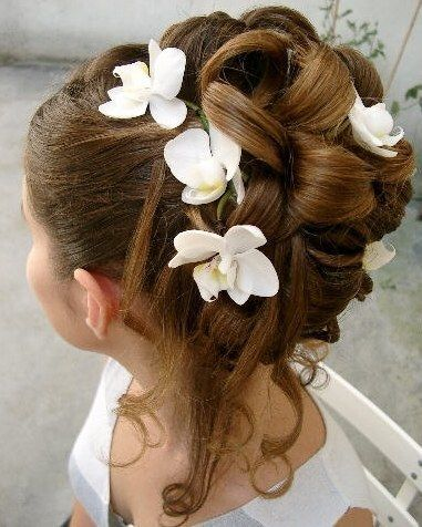 coiffure mariage fille 11 ans