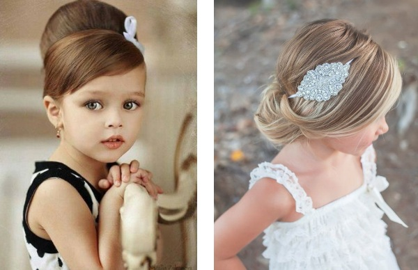 Coiffure Mariage Fille 8 Ans Maquillage Mariage