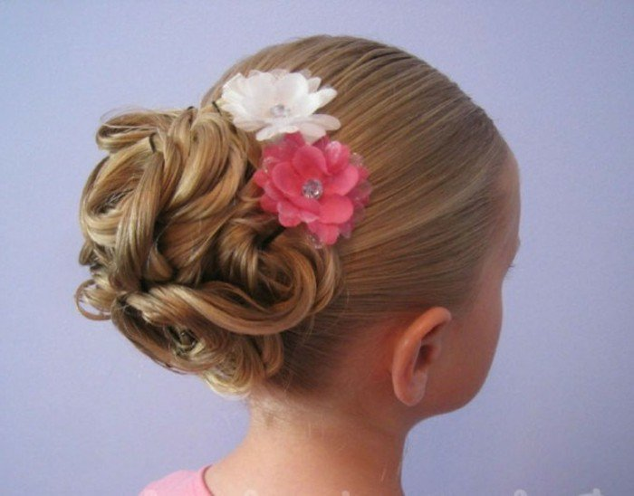 Coiffure Mariage Fille Cheveux Long Maquillage Mariage