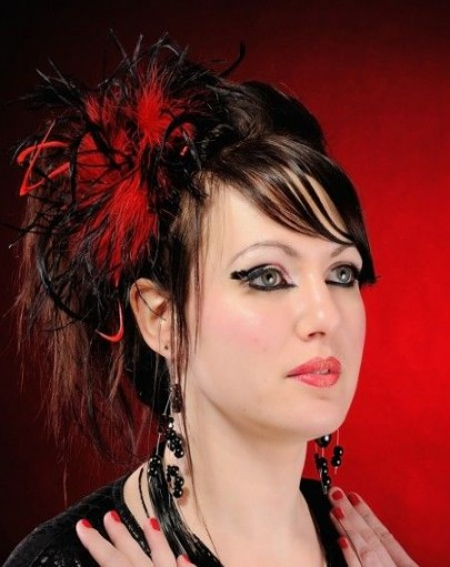 Coiffure Mariage Gothique Maquillage Mariage