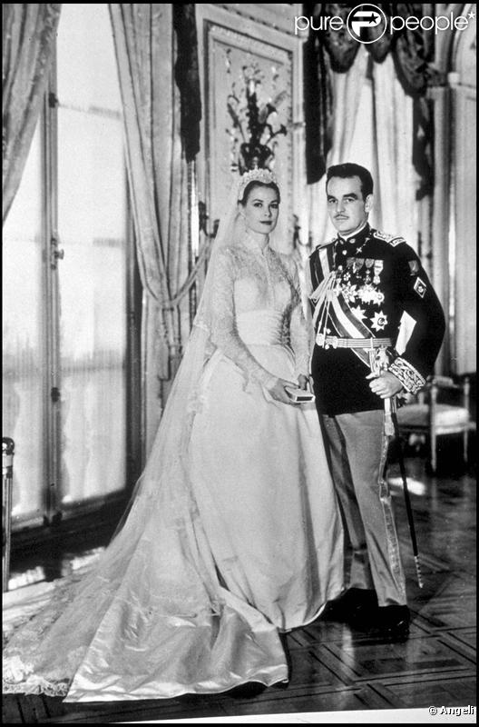 coiffure mariage grace kelly