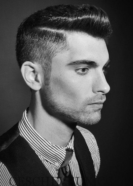coiffure mariage homme