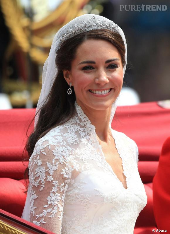 coiffure mariage kate