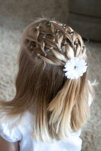 Coiffure Mariage Petite Fille Cheveux Court Maquillage Mariage