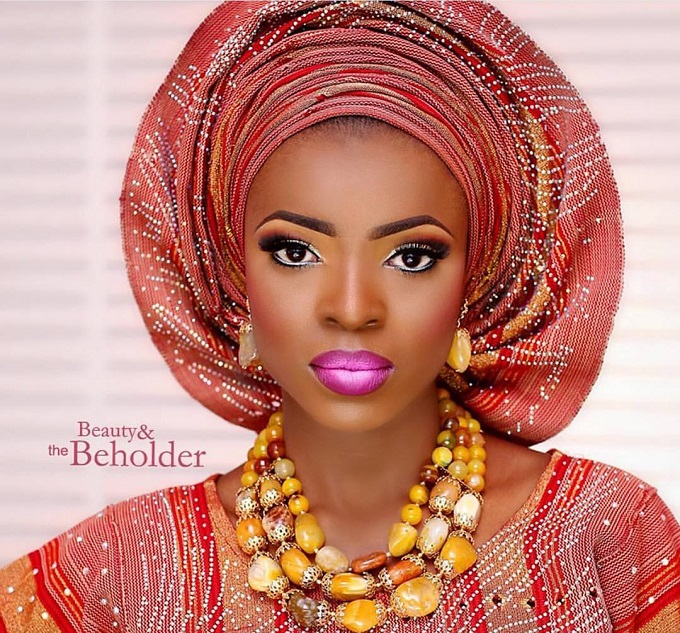 maquillage mariage africain