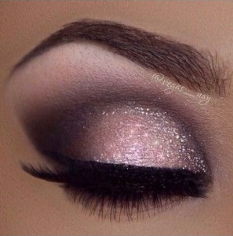 maquillage mariage couleur prune
