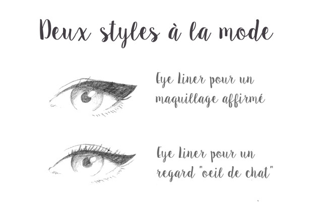 maquillage mariage eye liner