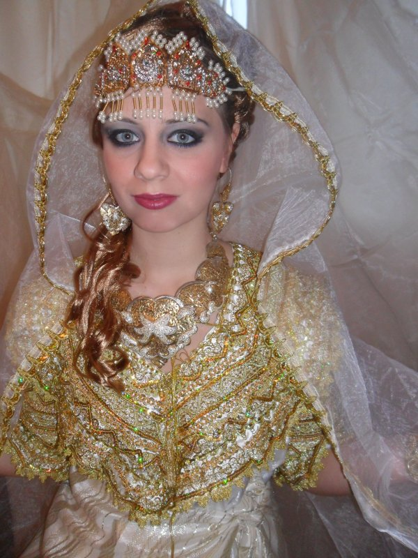 maquillage mariage kabyle