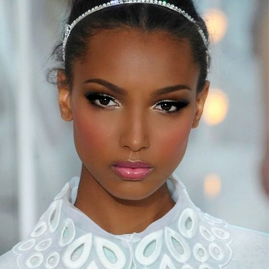 maquillage mariage peau mate