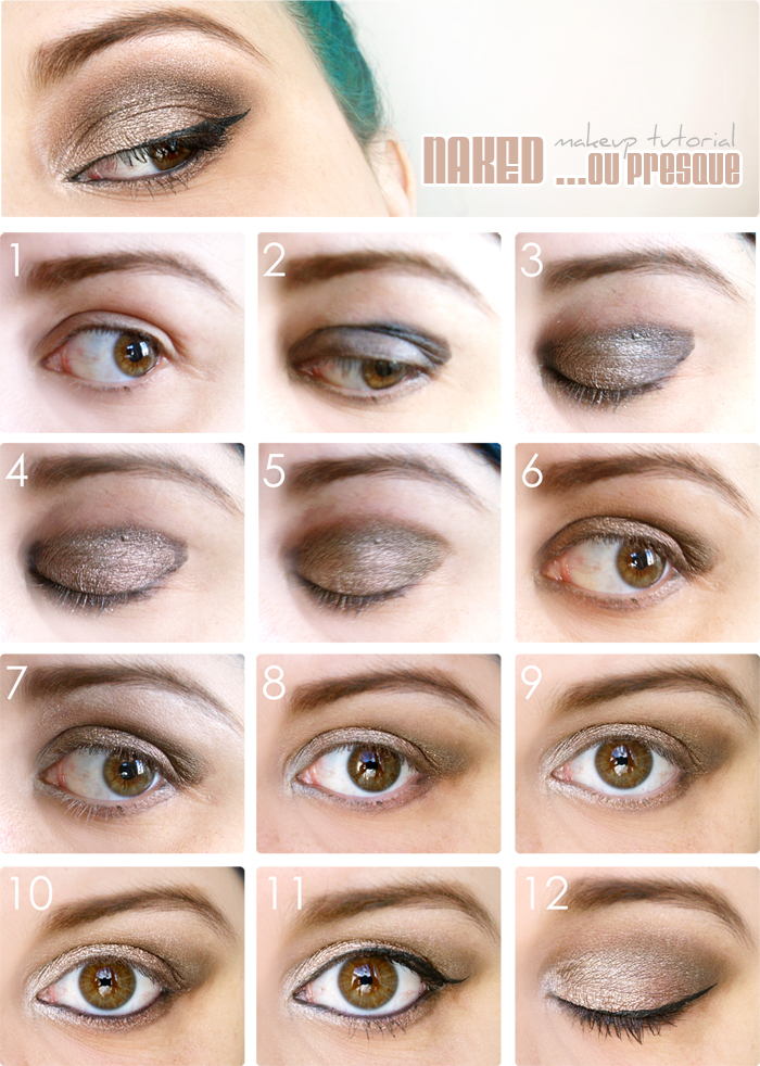 maquillage mariage pour yeux marron