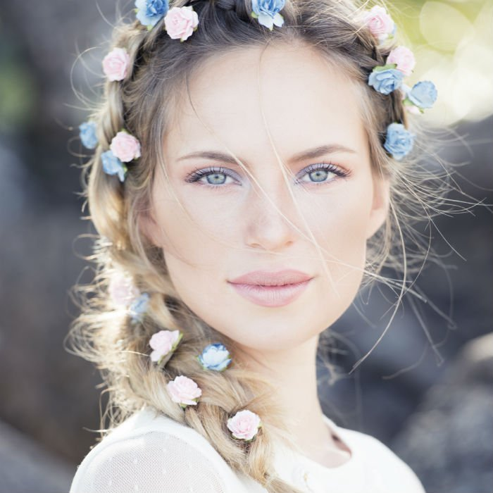 Maquillage Mariage Rose Poudre Maquillage Mariage