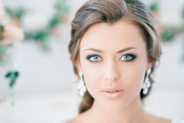 maquillage mariage smoky