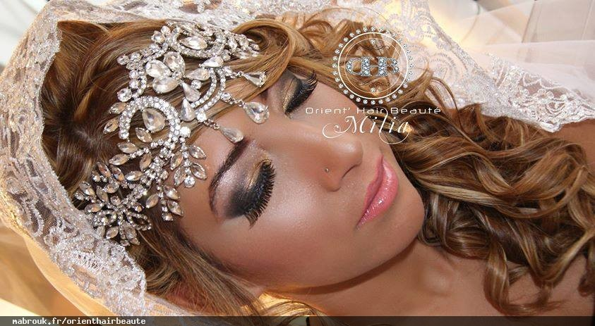 Coiffure maquillage mariage valence